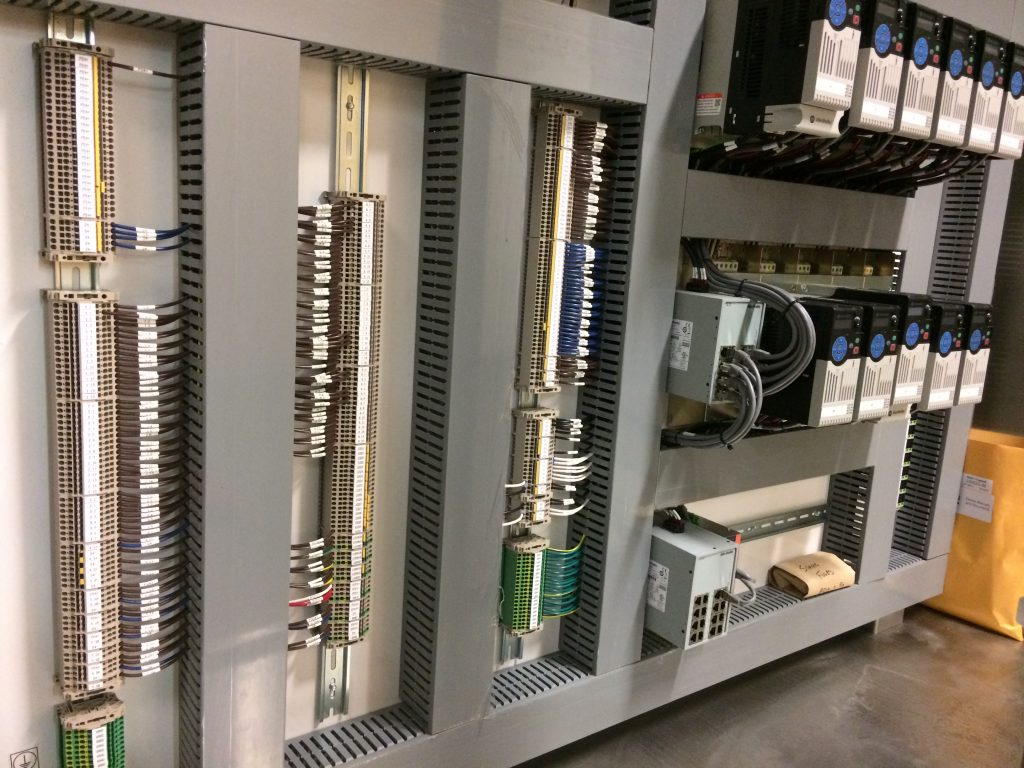 Allen Bradley Motor Control Panel
